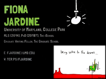 Fiona's business card